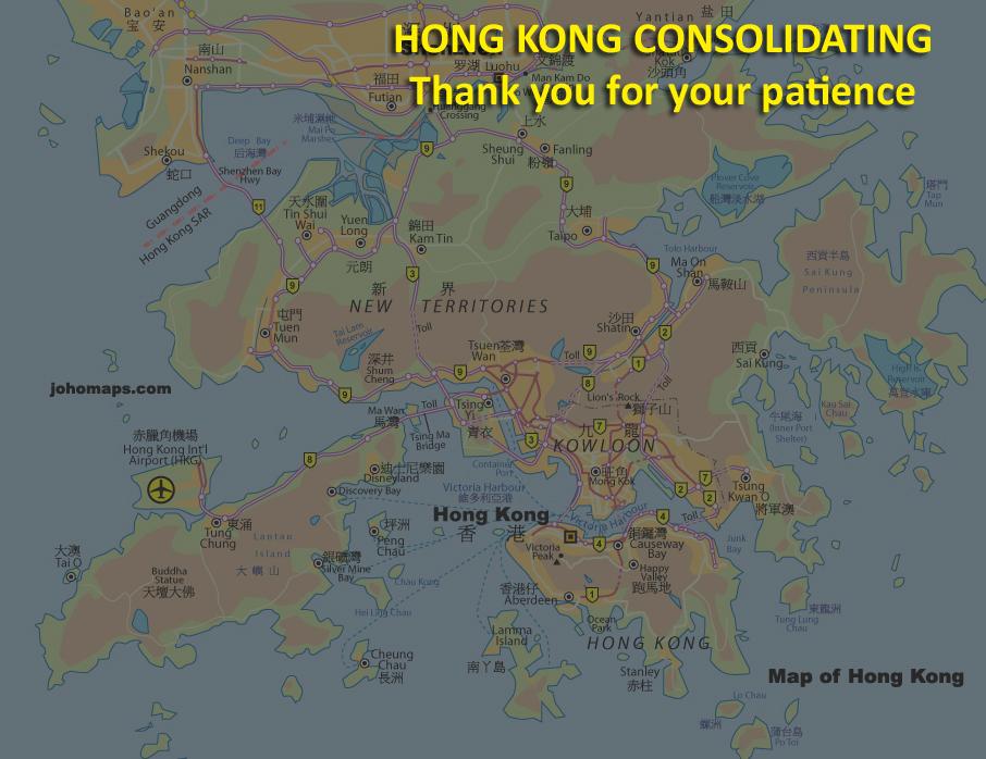 Map of hong kong johomaps see the metro map of hong kong sciox Choice Image