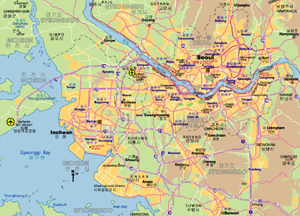 Maps of Seoul JohoMaps