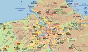 map of taipei city map of taipei city