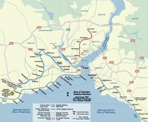Maps of istanbul, Turkey - JohoMaps