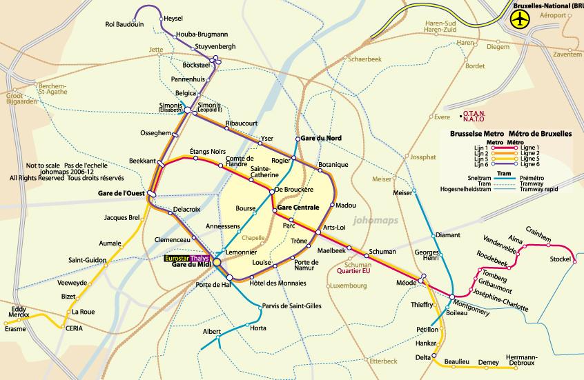 plan du metro bruxelles pdf