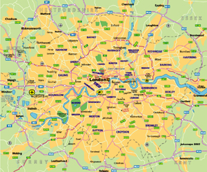 Maps of London JohoMaps