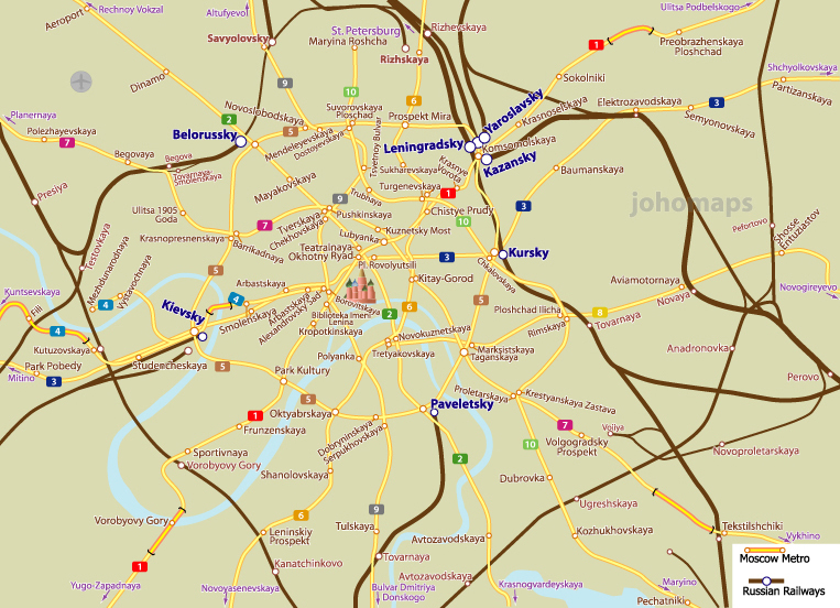 City rail map of moscow russia johomaps city rail map of moscow gumiabroncs Images