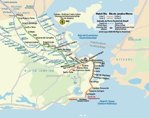 Maps of Rio de Janeiro - JohoMaps
